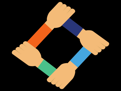 advisor resources icon of hands connected